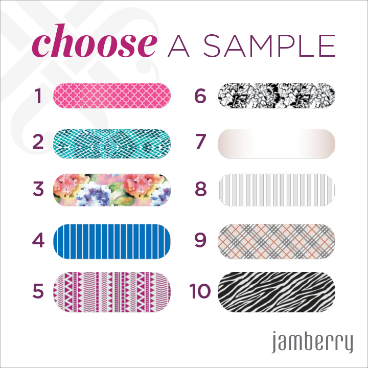 Request your Free Jamberry Sample here Survey