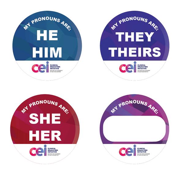 CEI Gender Pronoun Buttons (NEW!)