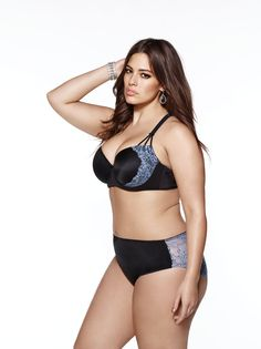 "Ashley Graham is a ""Plus size"" model tha"