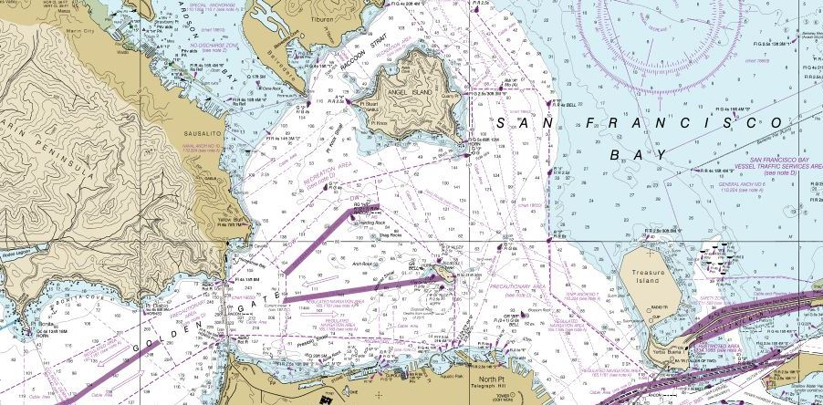 San francisco bay survey where is your vessel homeported and how many years of experience do you have operating in that area sciox Choice Image