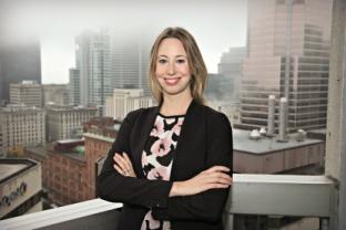 Marie-Christine Ladouceur-Girard, directrice, développement, diversité métropolitaine à la Chambre de commerce du Montréal métropolitain.