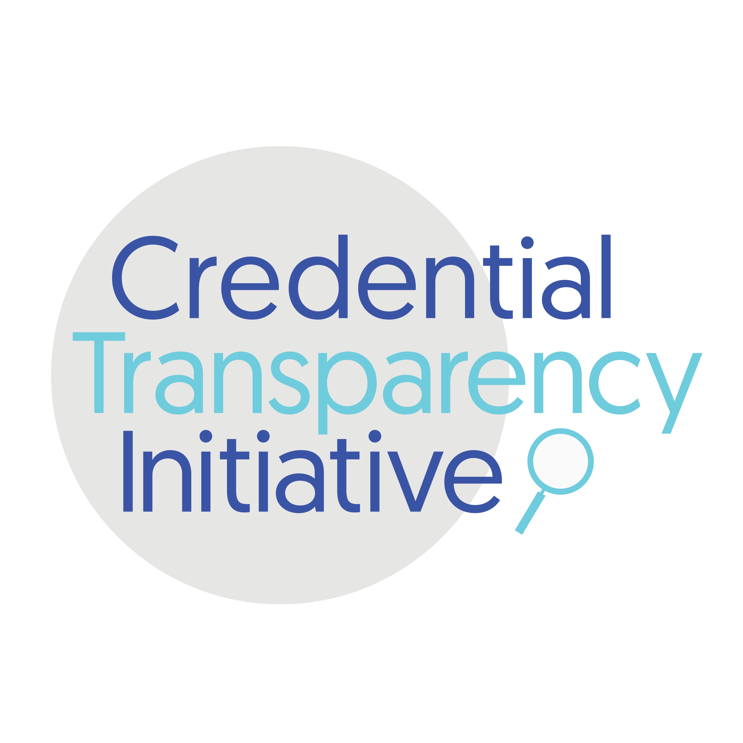 Credential Transparency Initiative