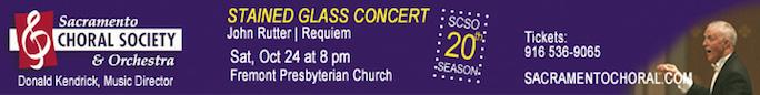Stained Glass Rutter Requiem Concert - Oct. 24,...