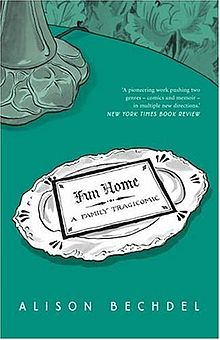 "<strong>Fun Home by Alison Bechdel</strong> is an unusual memoir done in the form of a graphic novel by a cult favorite comic artist, offering a darkly funny family portrait that details her relationship with her father, a historic preservation expert dedicated to restoring the family's Victorian home, funeral home director, high-­‐school English teacher, and closeted homosexual. Apart from assigned stints dusting caskets at the family-­‐owned""fun home"" as Alison and her brothers call it, the relationship achieves its most intimate expression through the shared code of books."