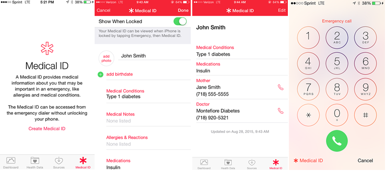 """<strong><span style=""""text-decoration: underline;"""">iPhone</span></strong>Health app"""