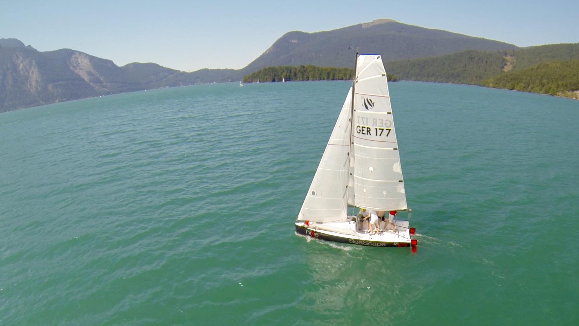Testsegeln auf dem Walchensee
