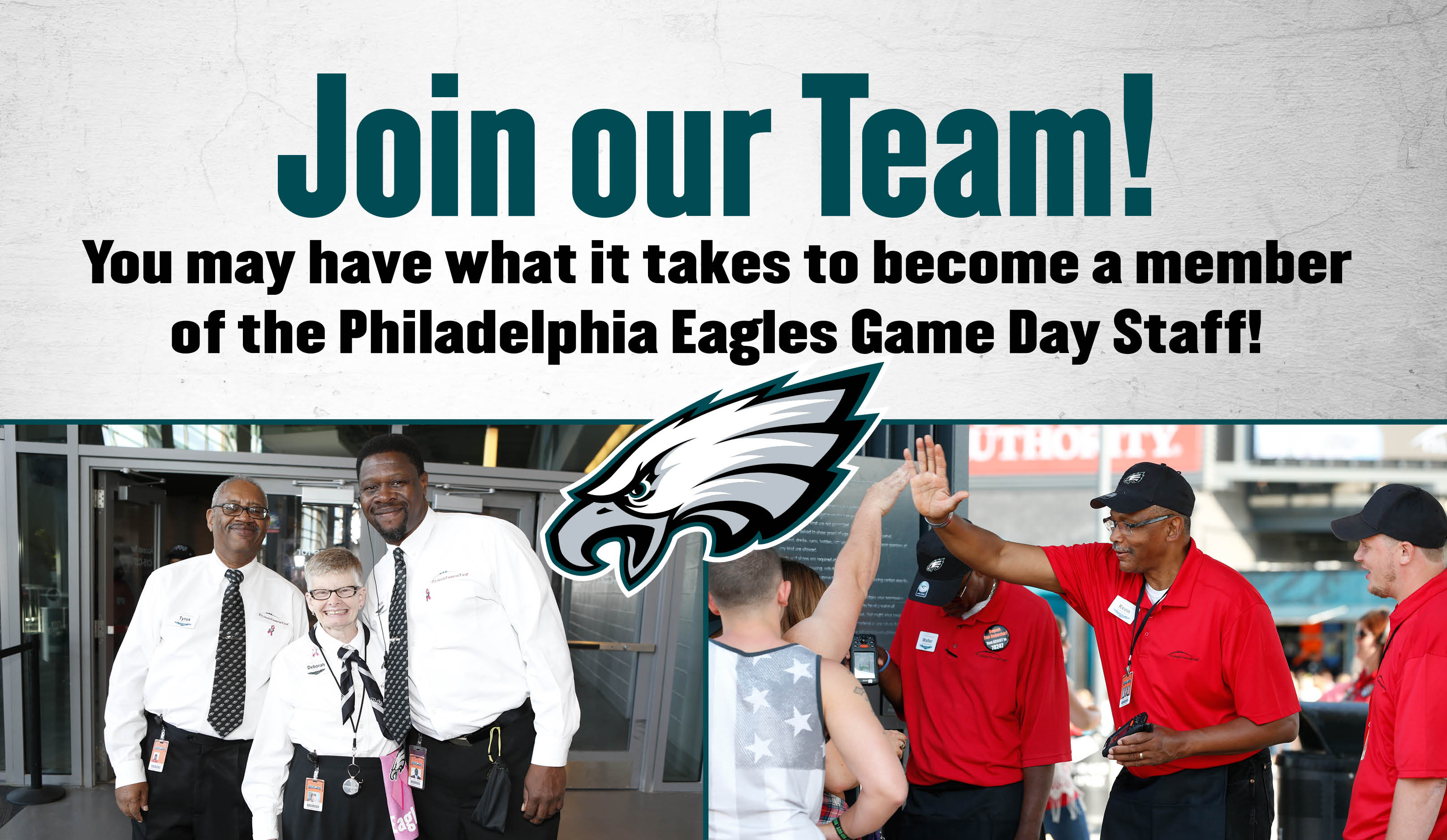 Game Day Staff Lincoln Financial Field