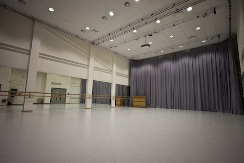 The Dance Studio at the Hub