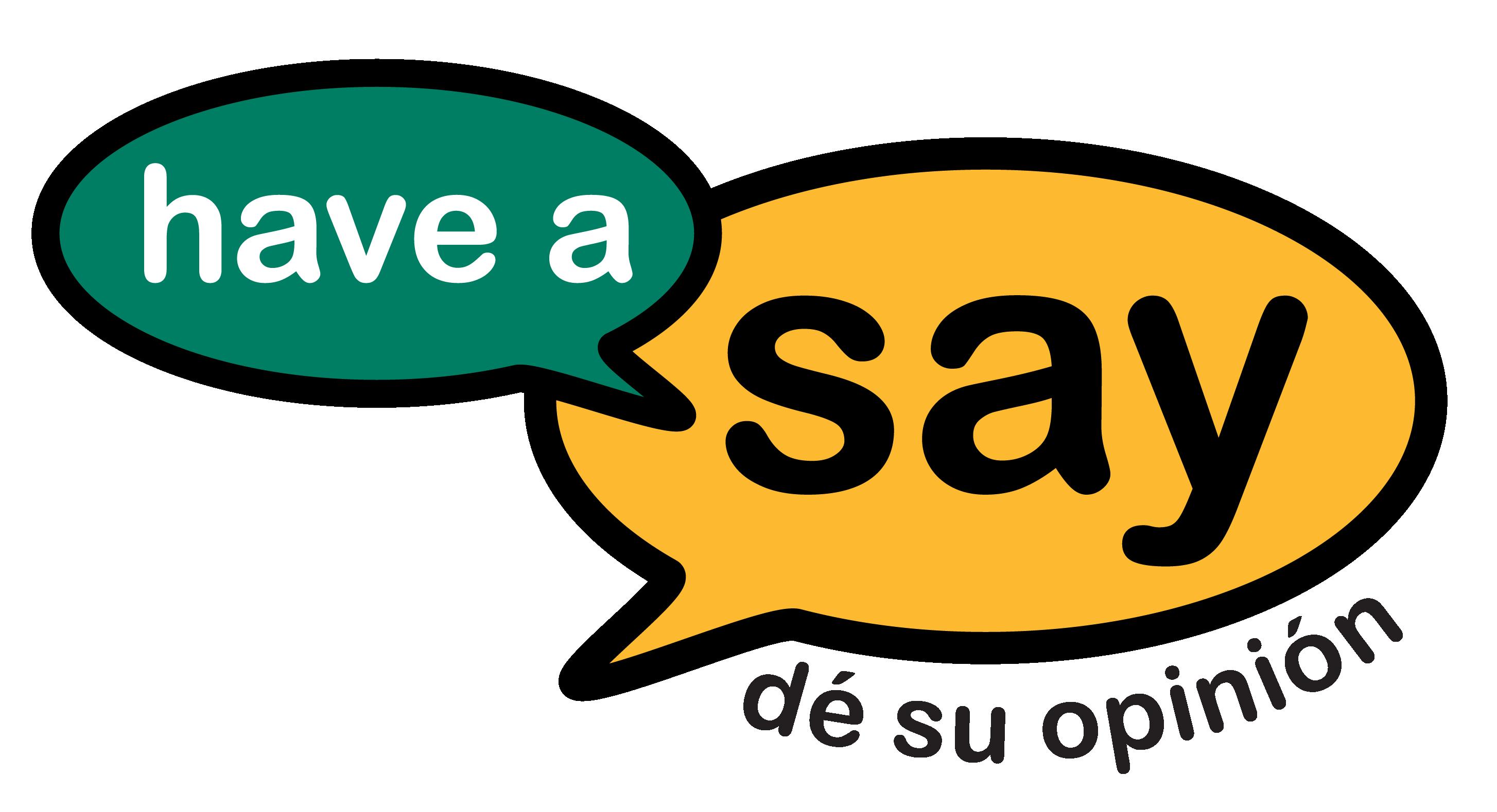 Have A Say - dé su opinión