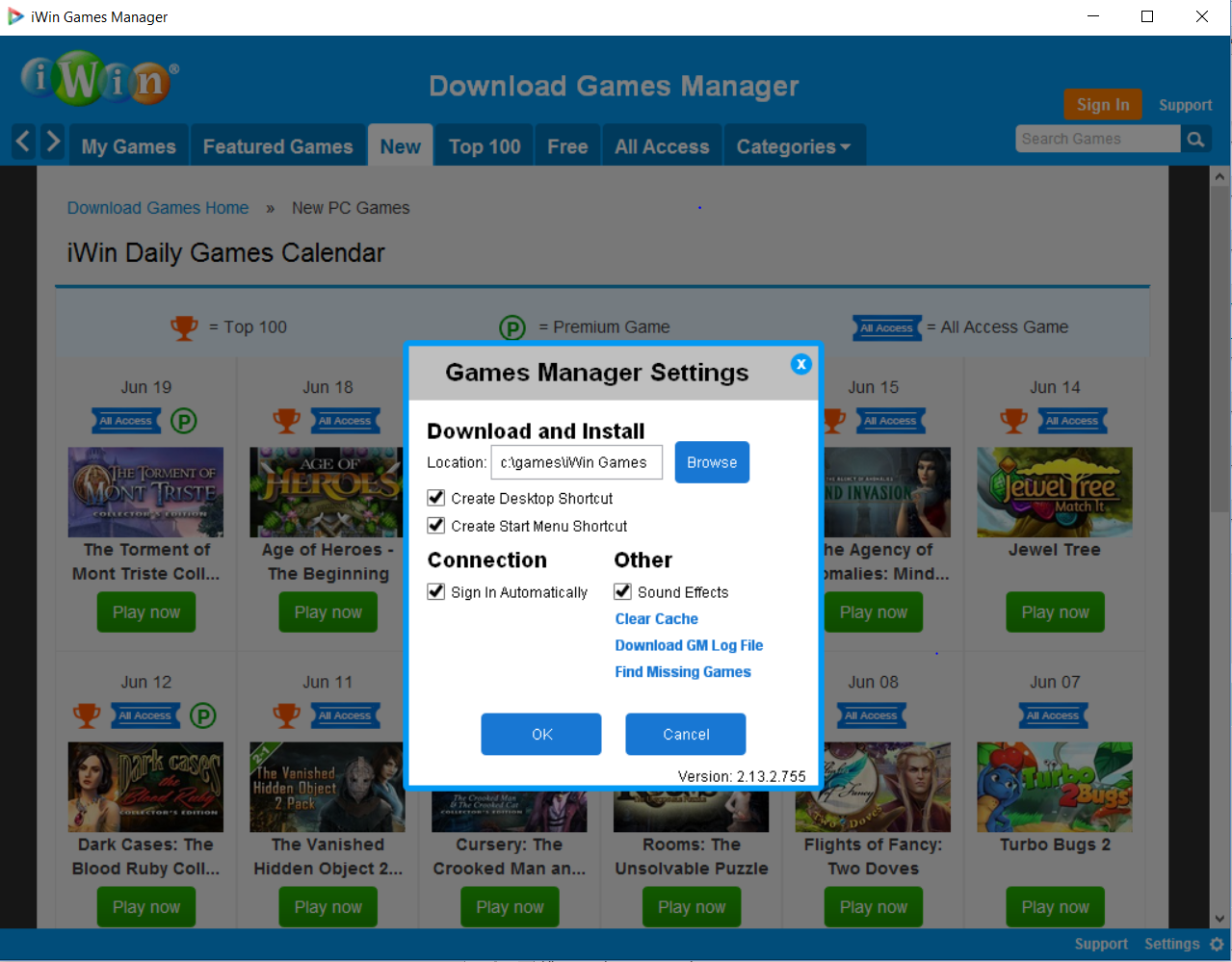 iWin Games Manager Survey