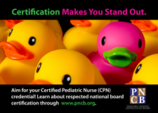 <strong>Exam Invitation Postcards - Certified Pediatric Nurse</strong> <br><br> Share these handy postcards to encourage others to get certified!
