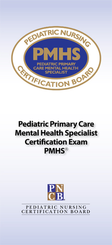<strong>Advanced Practice Exam Brochures: Pediatric Primary Care Mental Health Specialist</strong><br><br>Offers exam candidates a concise overview of eligibility requirements, the application process, and other important details.