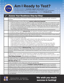 "<strong>""Am I Ready to Test?"" Checklist</strong> <br><br> This 8.5"" x 11"" flyer provides a step-by-step checklist to help you plan and prepare for your exam."
