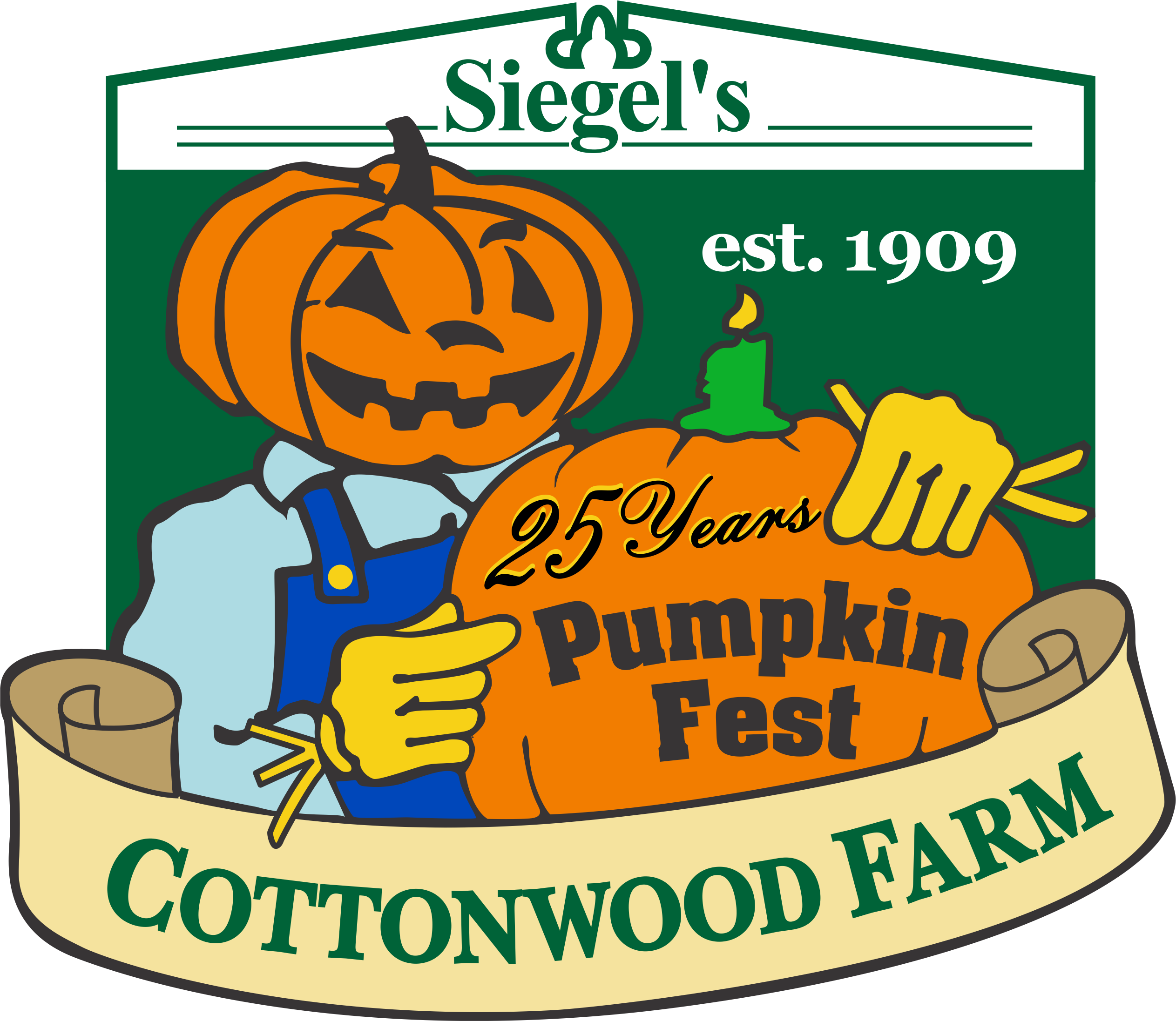Siegelss Cottonwood Pumpkin Farm 25 years