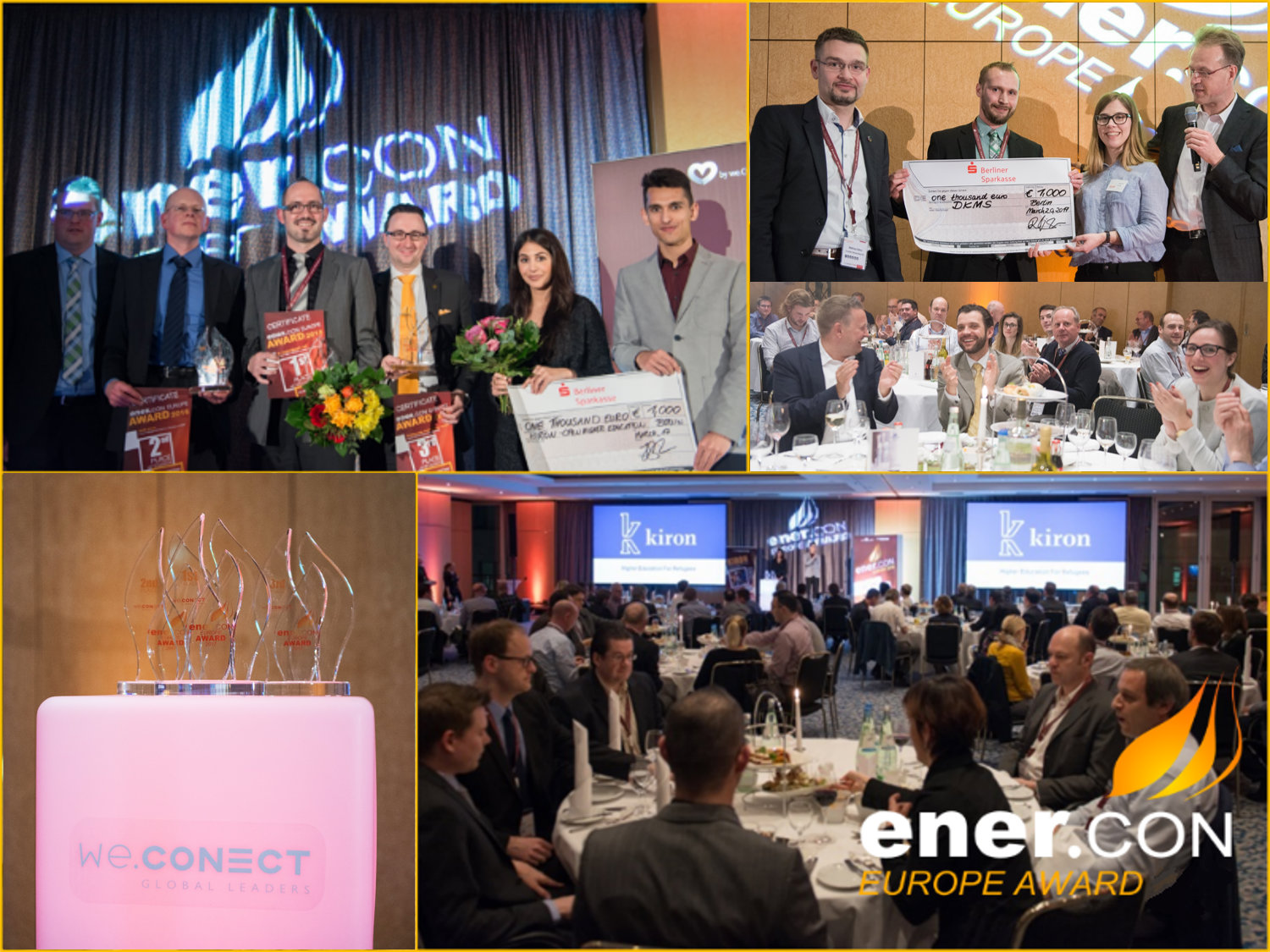 Presented by we.CONECT Global Leaders GmbH, the ener.CON award will exclusively recognize, celebrate and honor outstanding achievements and performances in energy and resource efficiency.<br><br>The deadline for submission is January 31, 2018.
