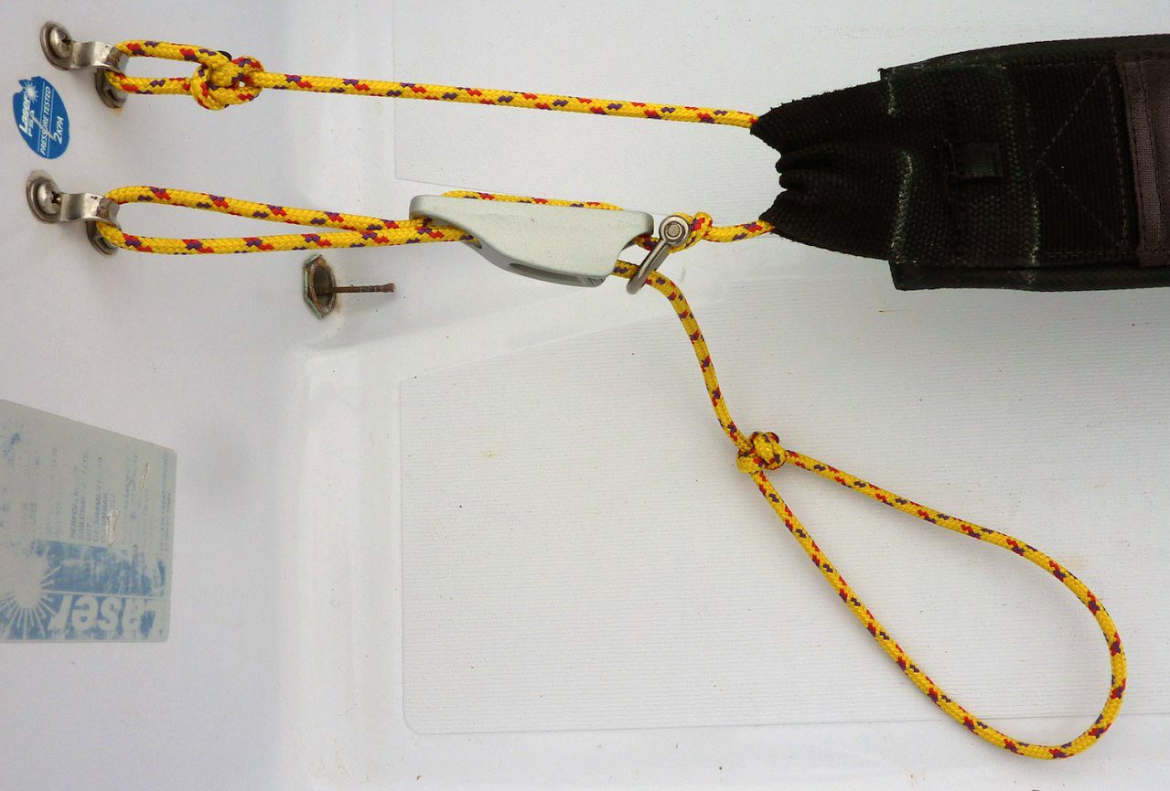 "<span style=""font-family: tahoma, arial, helvetica, sans-serif;"">Example of Possible Hiking Strap Adjustment Configuration</span>"